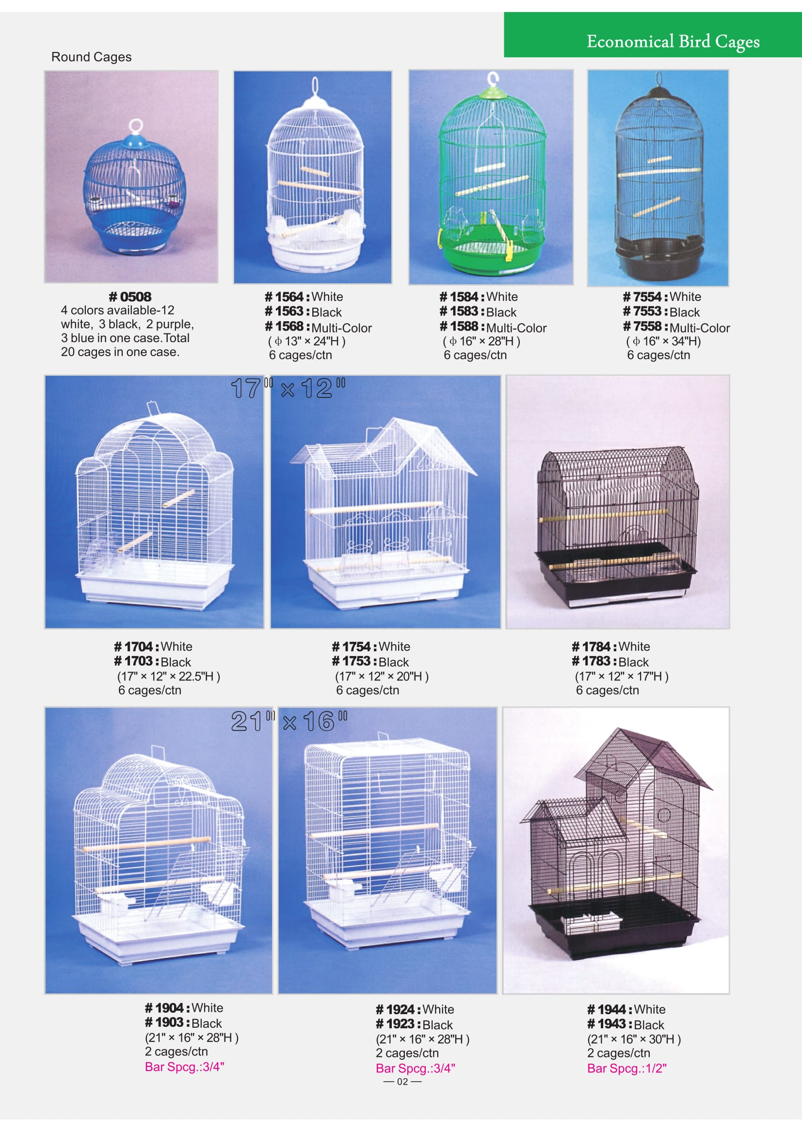 2. Economical Bird Cages Part 1-2