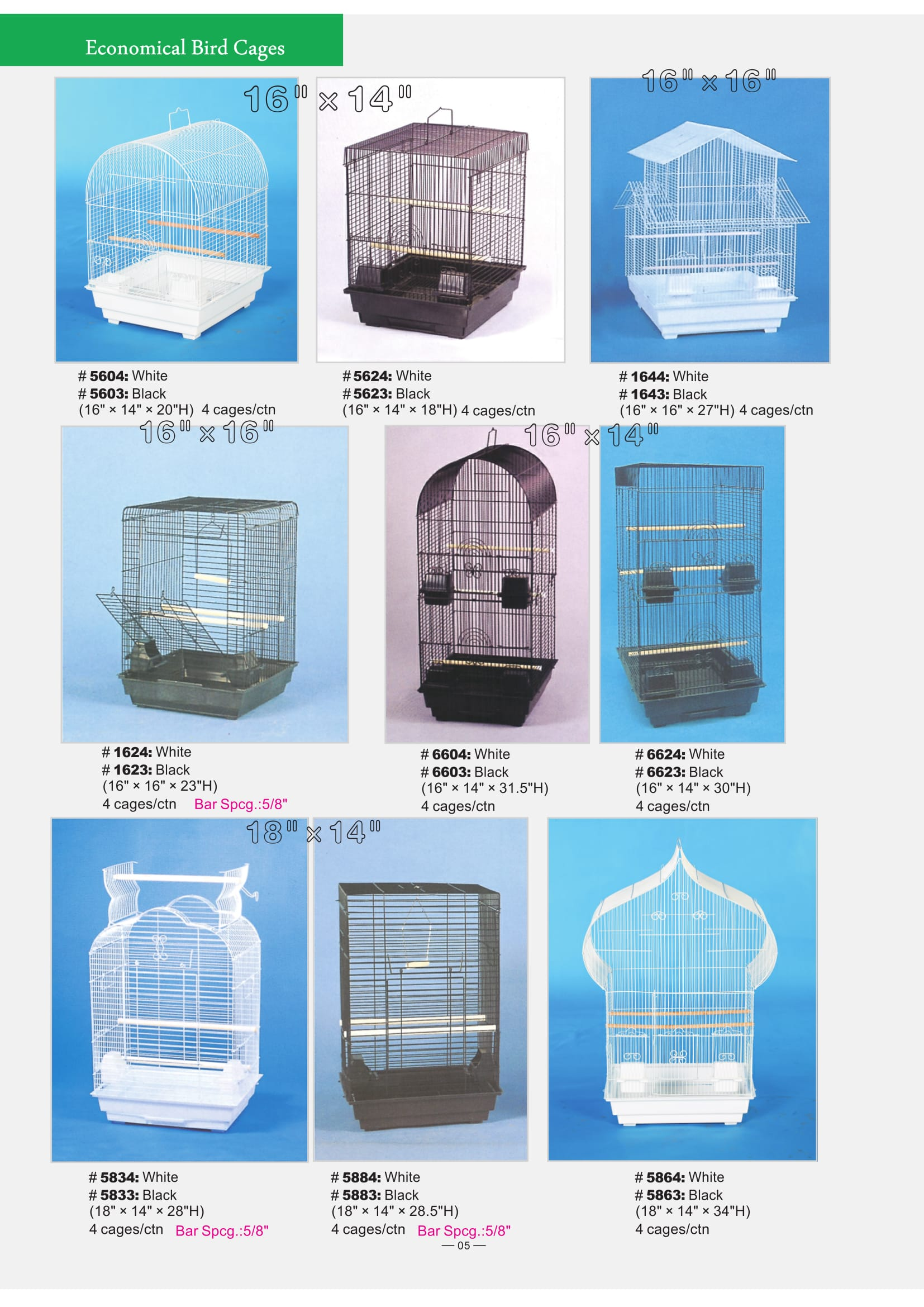 2. Economical Bird Cages part 2-2