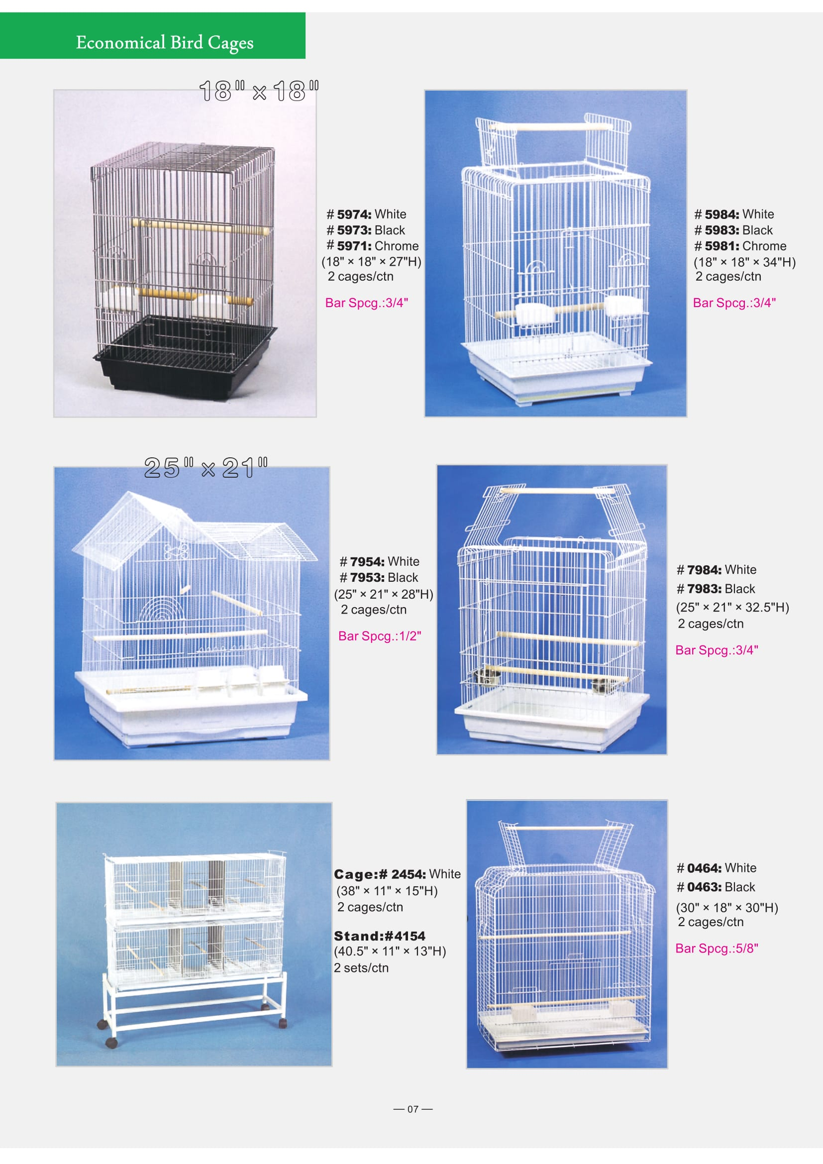 2. Economical Bird Cages part 2-4