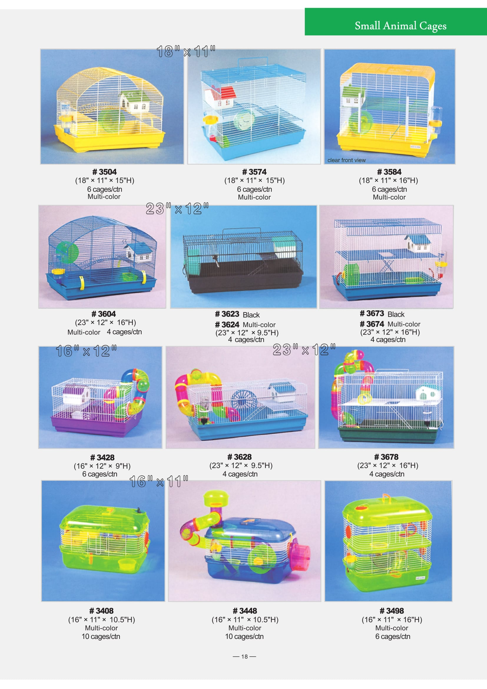 7. Small Animals Cages-2