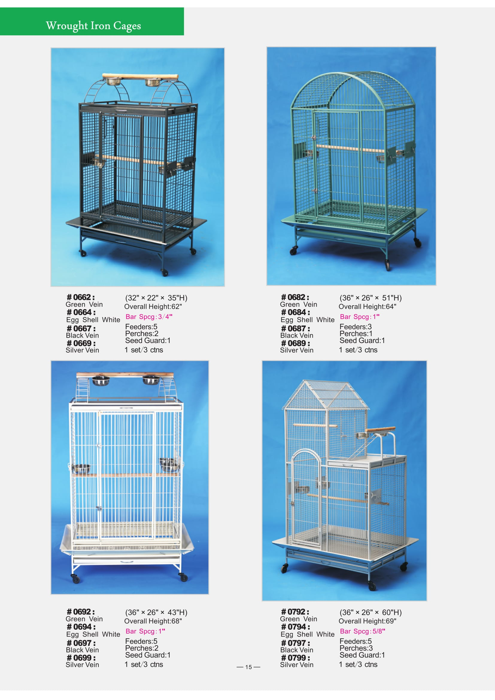 6. Wrought Iron Cages-5