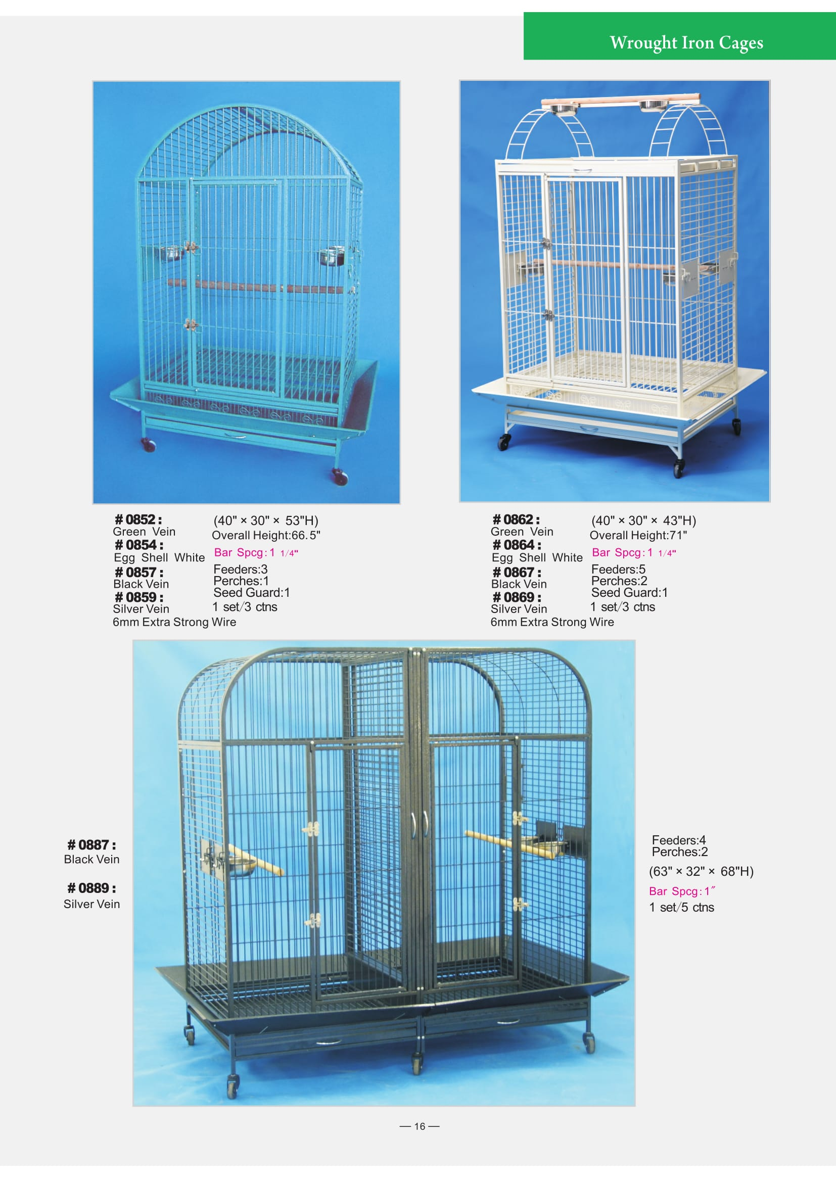 6. Wrought Iron Cages-6